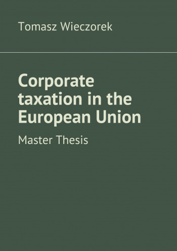 Corporate taxation in the European Union